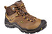 Keen Wanderer WP Hiking Shoes Men Dark Earth/Golden Yellow
